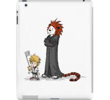 calvin and hobbes heroes iPad Case/Skin