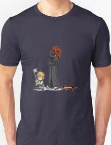 calvin and hobbes heroes T-Shirt