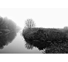 Foggy Fens Photographic Print