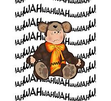 Charlie Brown-Bear.... Photographic Print
