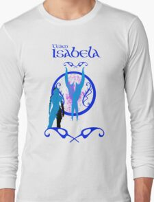 Isabela and her daggers Long Sleeve T-Shirt
