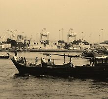 Good Old Dubai by Janone