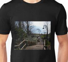 Even Harder Going Up -Lyme Gardens, Dorset UK Unisex T-Shirt