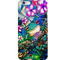 Frog playtime iPhone Case/Skin