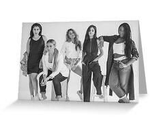 5H Black & White. Greeting Card