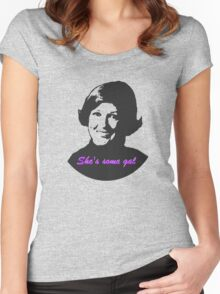 She's Some Gal Women's Fitted Scoop T-Shirt