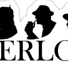 The Generations of Sherlock Holmes Sticker