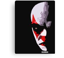 WHY SO ANGRY CLOWN? Canvas Print