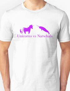Unicorns vs Narwhals T-Shirt