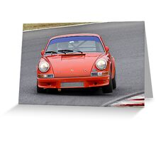 Porsche 911 - Eastern Creek Tasman Revival 2010 Greeting Card