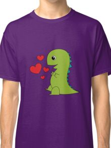 In Love T-Rex Classic T-Shirt