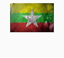 Myanmar Grunge Unisex T-Shirt