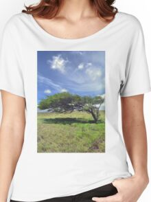 The Wind Swept Tree Women's Relaxed Fit T-Shirt