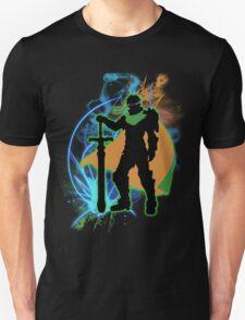 Super Smash Bros. Green Ike Silhouette Unisex T-Shirt