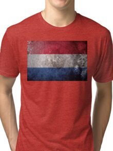 Netherlands Grunge Tri-blend T-Shirt