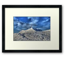 Ben Mor  Coigach   HDR   treatment Framed Print