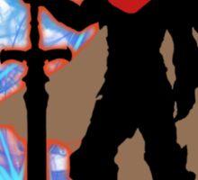 Super Smash Bros. Red Ike Silhouette Sticker
