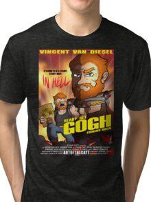 Ready. Set. GOGH. Tri-blend T-Shirt