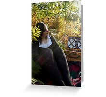 Sunshine in Sherwood Forest Greeting Card