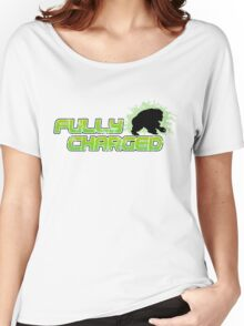 Fully Charged Women's Relaxed Fit T-Shirt