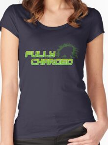 Fully Charged Women's Fitted Scoop T-Shirt