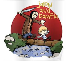 calvin and hobbes jason Poster