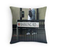 Barking Road E16 Throw Pillow