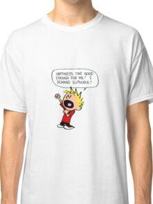 calvin and hobbes scream Classic T-Shirt