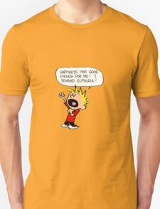 calvin and hobbes scream T-Shirt