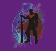 Super Smash Bros. Purple Ike Silhouette T-Shirt