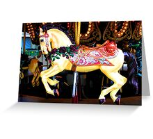 Ride the White Horse Greeting Card