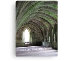 fountain abby arches Canvas Print