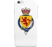 Coat of arms (family crest) for last-name or surname Mallory (England) . Heraldry banner for your name. iPhone Case/Skin