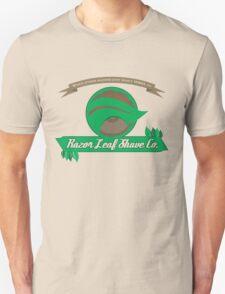 Pokemon - Razor Leaf Shave Company (Flat) T-Shirt