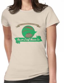 Pokemon - Razor Leaf Shave Company (Flat) Womens Fitted T-Shirt