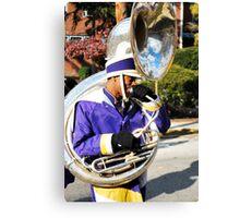 101 Trombones  Canvas Print