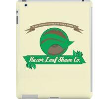 Pokemon - Razor Leaf Shave Company (Flat) iPad Case/Skin