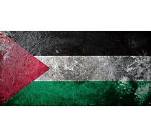 Palestine Grunge Photographic Print