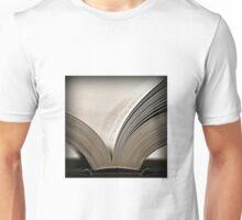 An open book Unisex T-Shirt