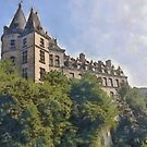 Durbuy Castle - Belgium by Gilberte