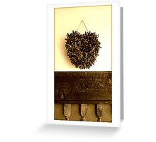 Corazon Greeting Card