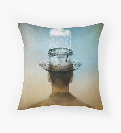 Fill up my cup Throw Pillow