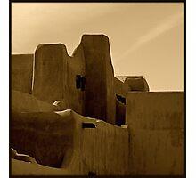Adobe~ Santa Fe, New Mexico Photographic Print