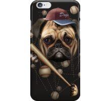 DOG BASEBALL iPhone Case/Skin