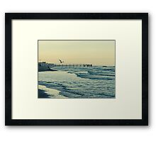 Carried by the Wind Framed Print