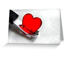 Carefully With .......... Greeting Card