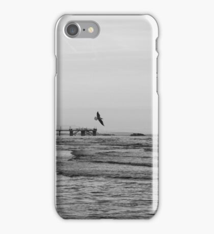 Carried by the Wind BW iPhone Case/Skin