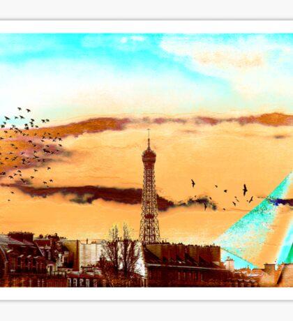 Parisian Mosaic - Piece 20 - The Eiffel Tower Sticker