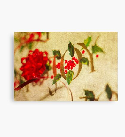 Ribbon Joy Canvas Print