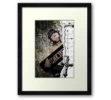 Detour...lost faith...confessions of a catholic girl Framed Print